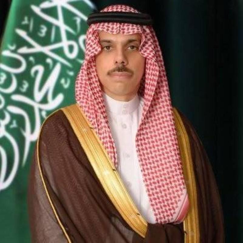وزير الخارجية الأمير فيصل بن فرحان.