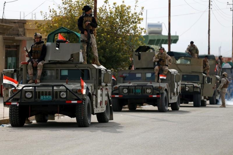 قوات عراقية.