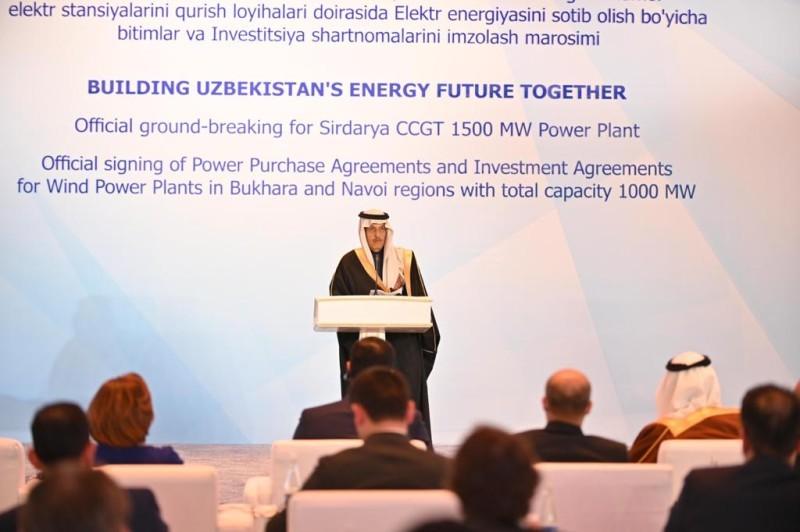 «الطاقة الأوزبكية» و«أكوا باور» تدشنان مشاريع استراتيجية لتعزيز قدرات الطاقة المتجددة في أوزبكستان