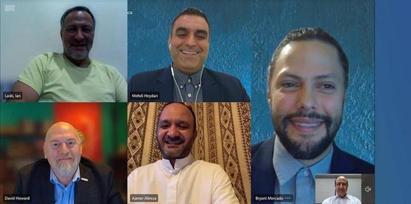 مجلس الأعمال الأمريكي السعودي يختتم بعثته الأولى لتطوير الأعمال الافتراضية إلى المملكة.