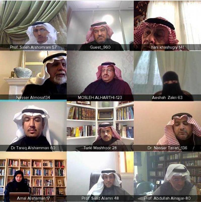 لجنة الشؤون التعليمية والبحث العلمي في الشورى أثناء اجتماعها بمسؤولي التعليم.
