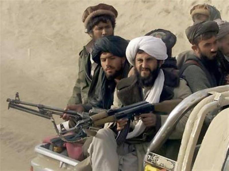 مسلحون من حركة طالبان.