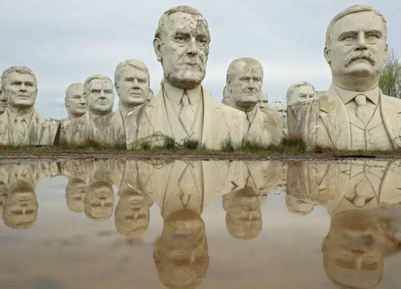 تماثيل الرؤساء الأمريكيين