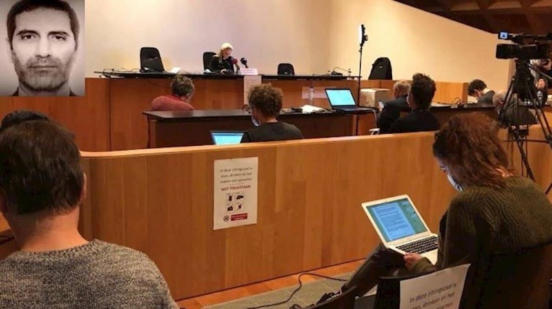 محاكمة خلية أسدي في بلجيكا.