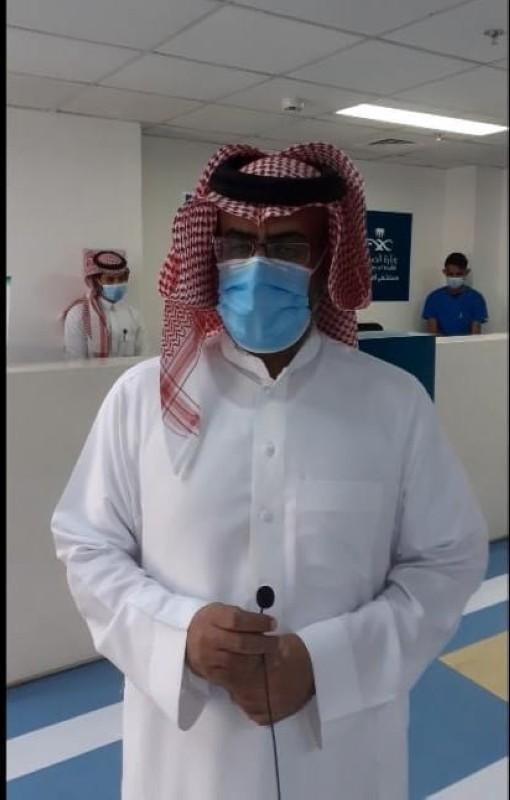 مدير المستشفى محمد الغامدي.