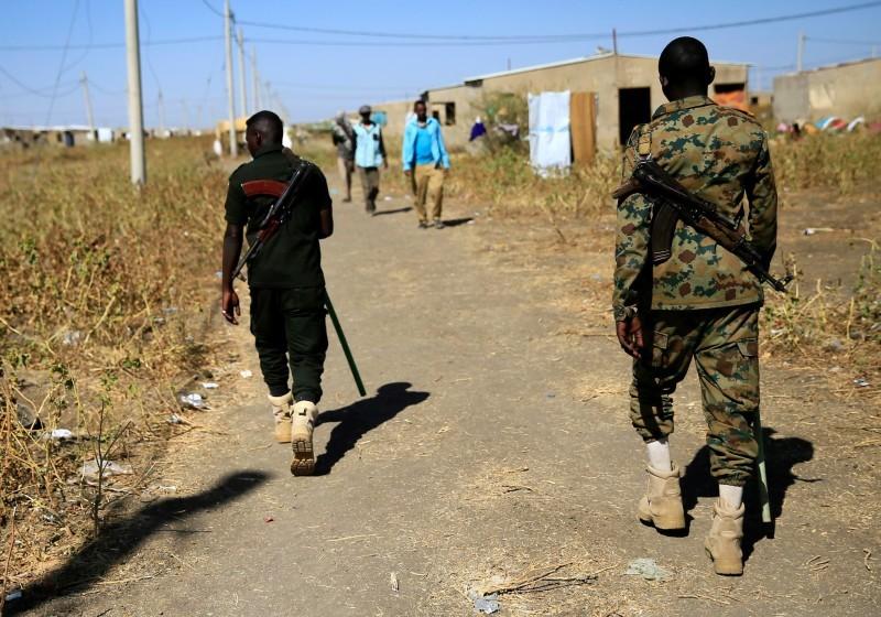 من الحدود السودانية الإثيوبية.