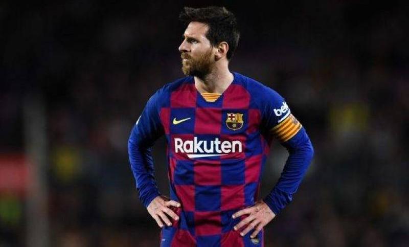 ميسي يمر بأسوأ لحظاته مع برشلونة.
