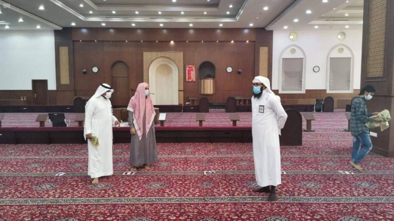 الشؤون الإسلامية بالمدينة تنفذ جولات ميدانية لمتابعة الإجراءات الاحترازية في المساجد.