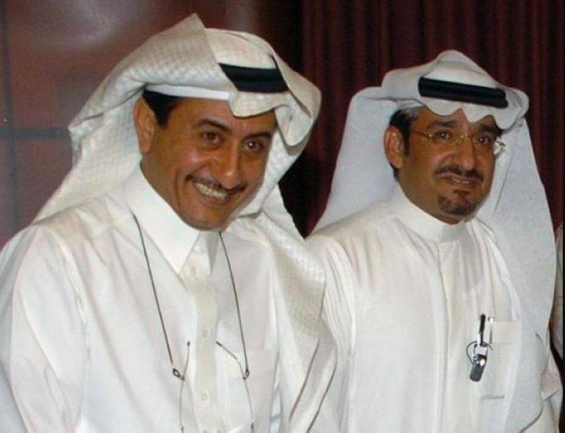 ناصر القصبي وعبدالله السدحان