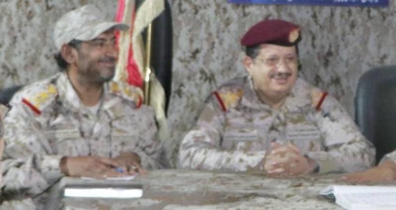 وزير الدفاع ورئيس الأركان اليمني