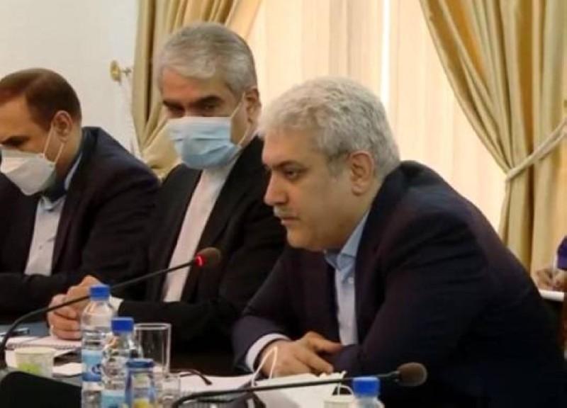 نائب روحاني زار دمشق سرا الأسبوع الماضي.