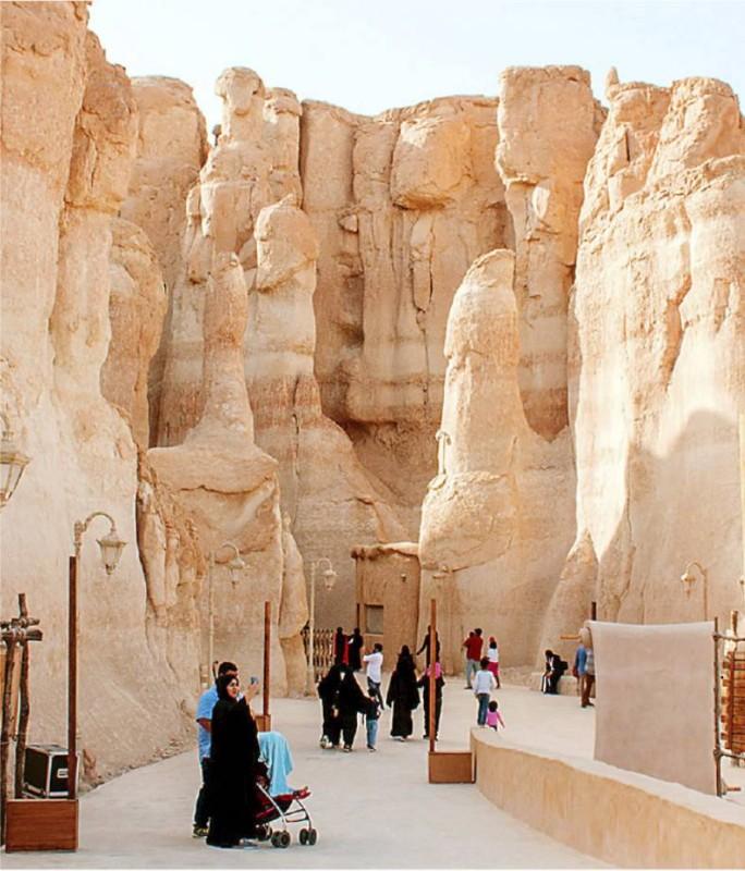 التنوع الجغرافي والمناخ الصحي في مختلف مناطق المملكة يسهم في دعم السياحة العلاجية.