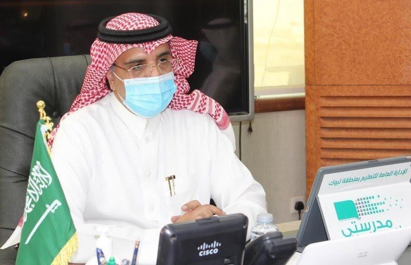 إبراهيم العُمري مدير تعليم منطقة تبوك.