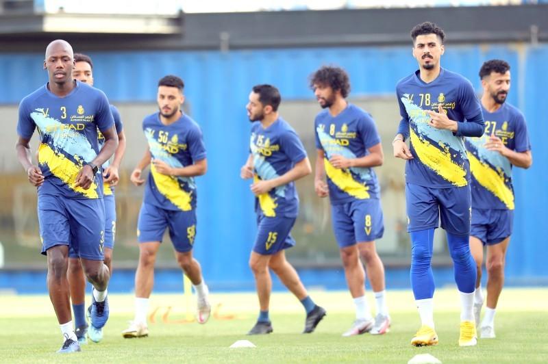 تدريبات فريق النصر قبل المواجهات الآسيوية.