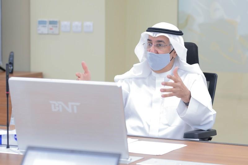 محافظ البنك المركزي السعودي الدكتور فهد المبارك.