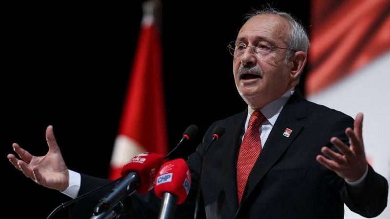 زعيم المعارضة التركية.