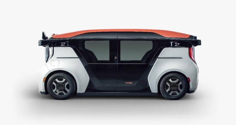 سيارة ذاتية القيادة.