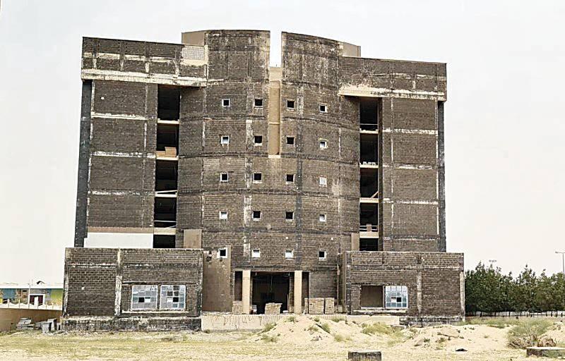 مشروع الدوائر الشرعية من أقدم المشاريع المتعثرة في حفر الباطن.