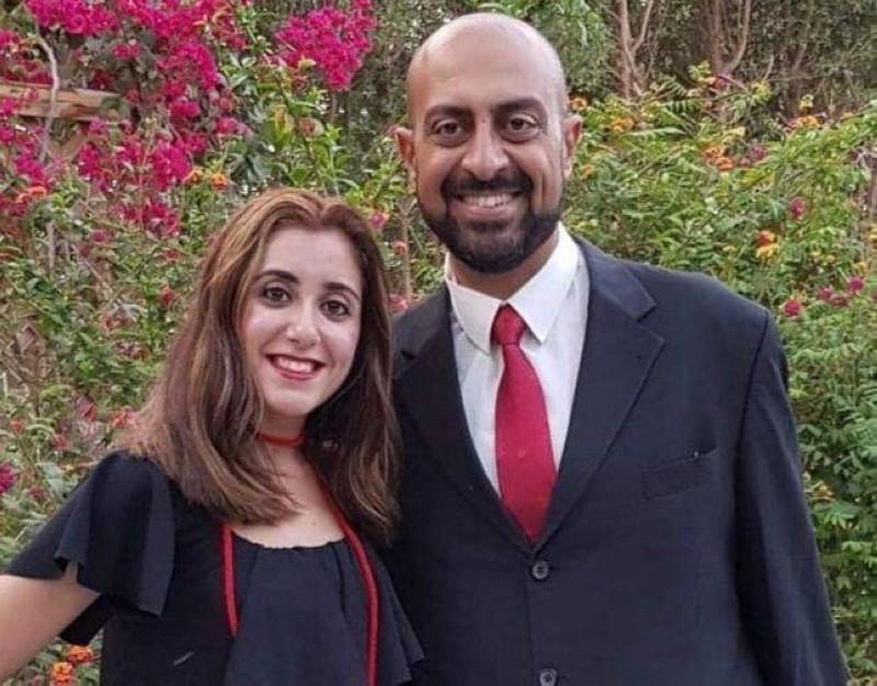 الجانيان مايكل فهمي وزوجته
