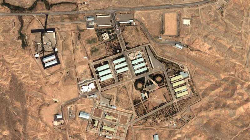 موقع بارشين النووي في إيران.