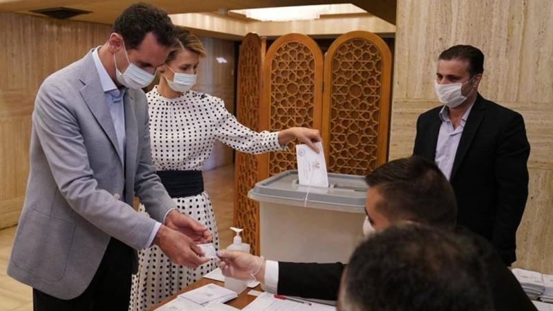 انتخابات سورية.