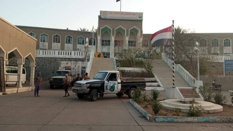 مستشفى الثورة بعد تطهيره من الخلية الإرهابية.