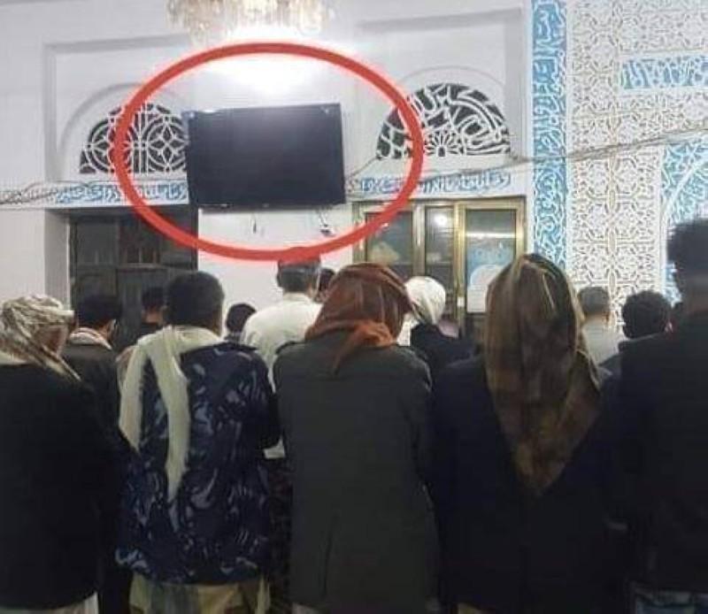 تلفزيونات في مساجد صنعاء