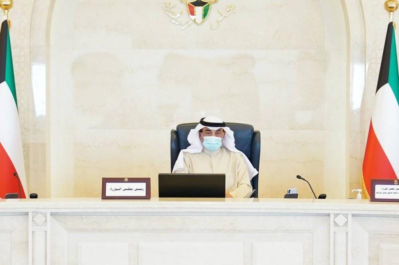 الشيخ صباح خالد الصباح مترئسا الجلسة