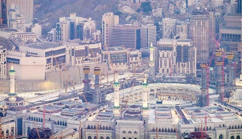 تهيئة أدوار مبنى المطاف والتوسعة السعودية الثالثة لاستقبال المعتمرين والمصلين خلال الـ10 الأواخر من شهر رمضان.