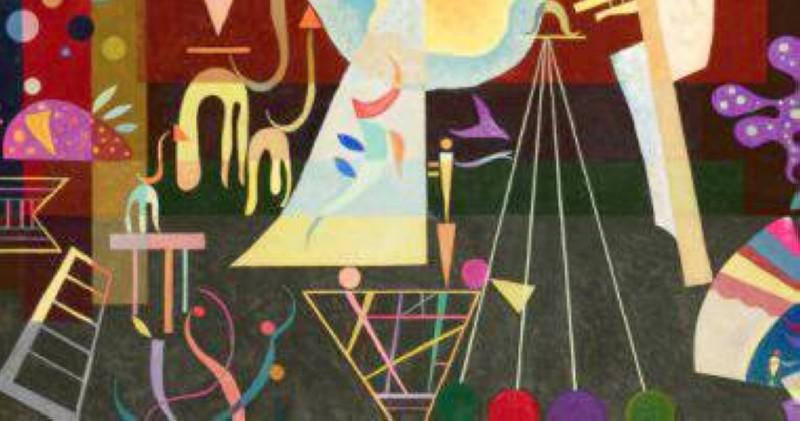 لوحة الفنان واسيلي كاندينسكي.