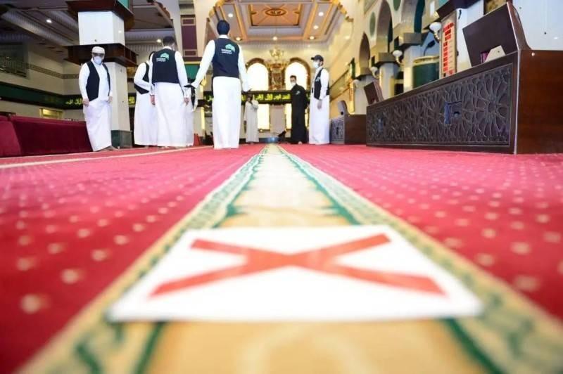 جولة رقابية في أحد المساجد