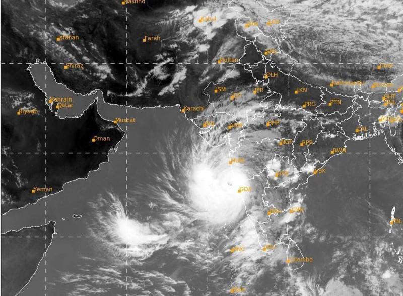 حالة الإعصار في بحر العرب