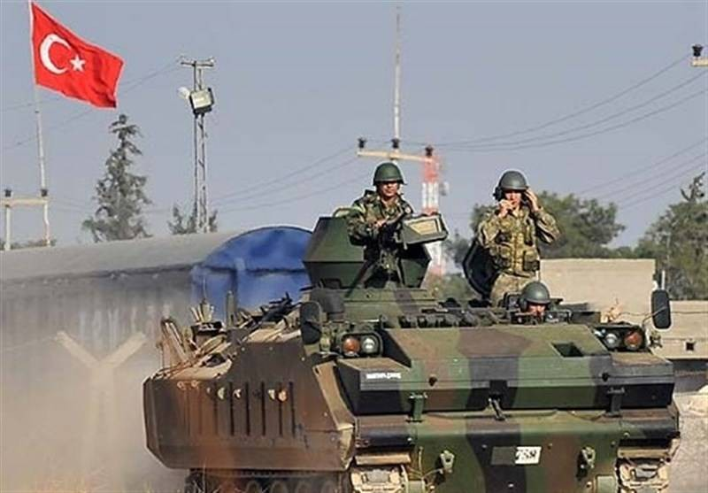 آليات تركية تنتهك سيادة الأراضي العراقية .