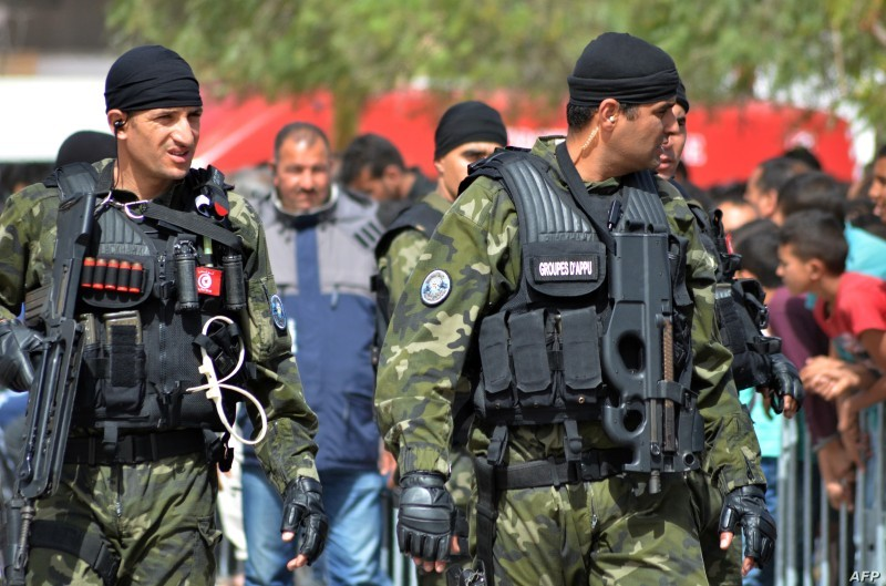 قوات تونسية خاصة لمواجهة الإرهابيين .