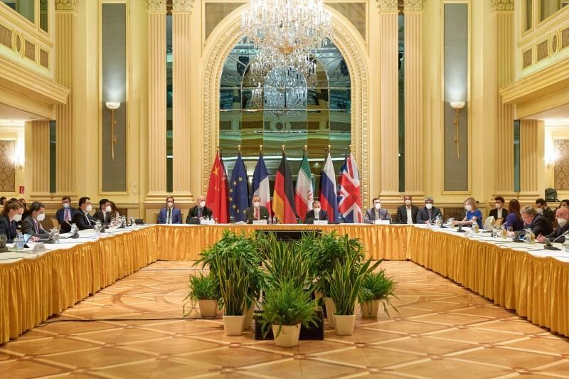 مفاوضات فيينا حول النووي الإيراني.