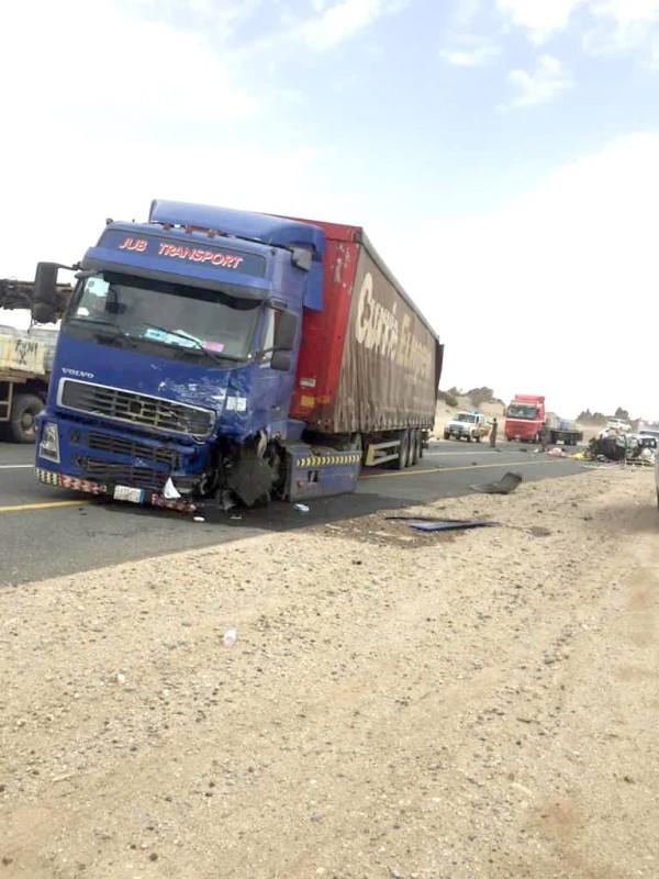 صور من الحوادث التي تشهدها المنطقة. (عكاظ)