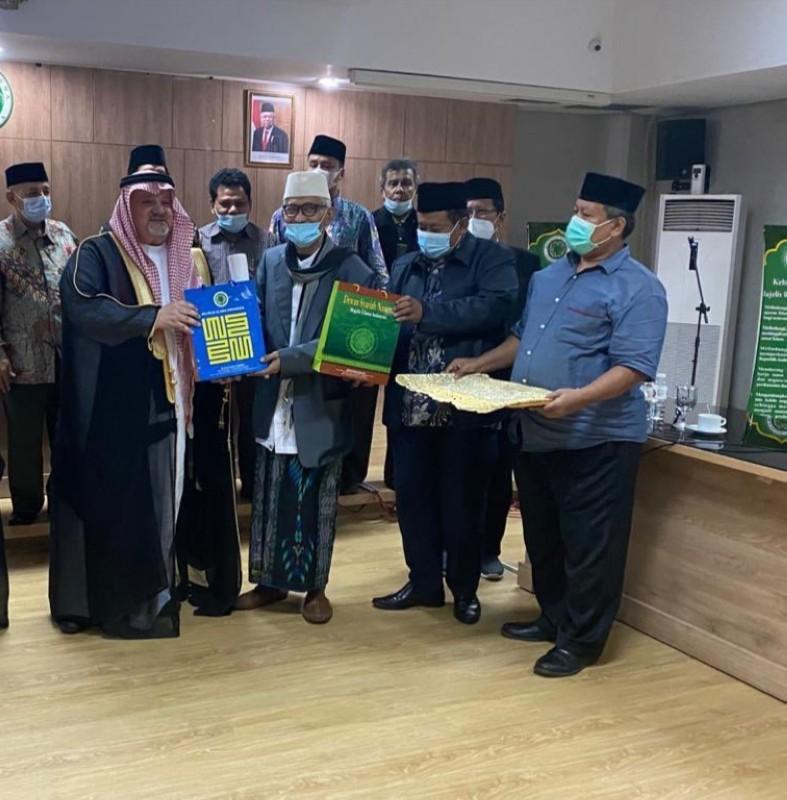 زيارة السفير عصام الثقفي لمجلس العلماء الإندونيسي.
