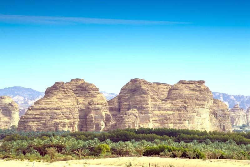 إنشاء بنية تحتية مناسبة لصناعة الأفلام في شمال غربي السعودية. (الهيئة الملكية لمحافظة العلا)