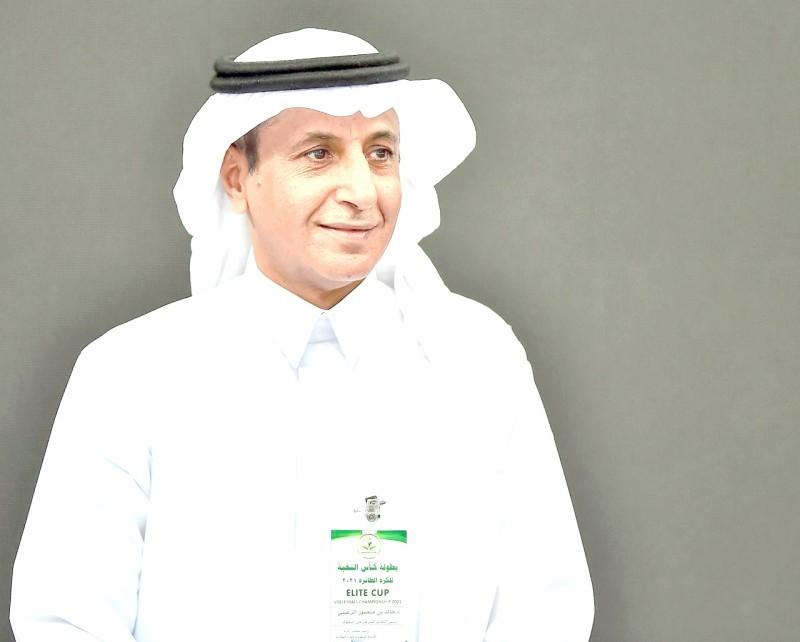 رئيس الاتحاد السعودي للكرة الطائرة الدكتور خالد الزغيبي. (اتحاد اللعبة)