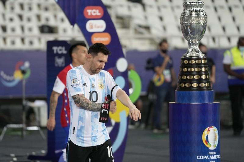 إحراز لقب مع الأرجنتين هو الهدف الوحيد المتبقي للأسطورة ليونيل ميسي. (AP)