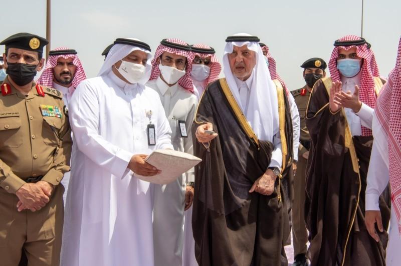 أمير مكة يدشن مركز الضبط الأمني بالشميسي (إمارة مكة - «تويتر»)
