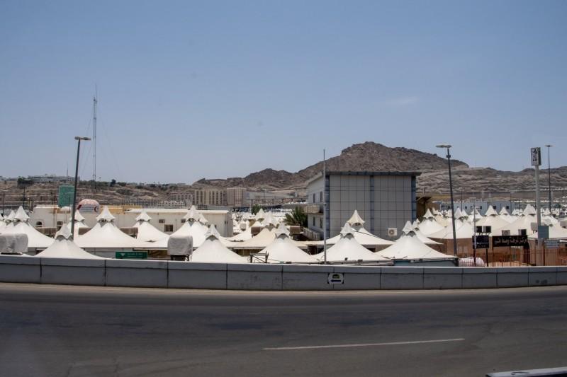 مخيمات الحجاج في المشاعر المقدسة (إمارة مكة - «تويتر»)