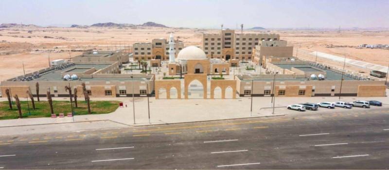 مرافق مركز الضبط الأمني بالشميسي (إمارة مكة - «تويتر»)