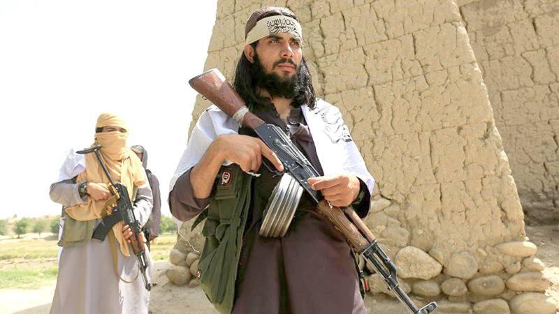مليشيات طالبان تتقدم صوب العاصمة. (متداولة)