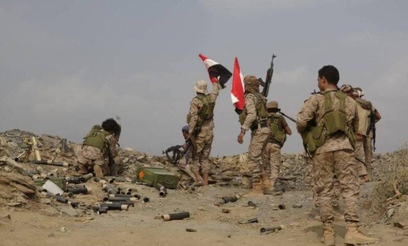 قوات الجيش الوطني في مأرب.
