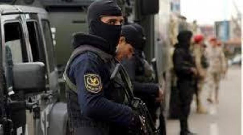 قوات أمنية مصرية.