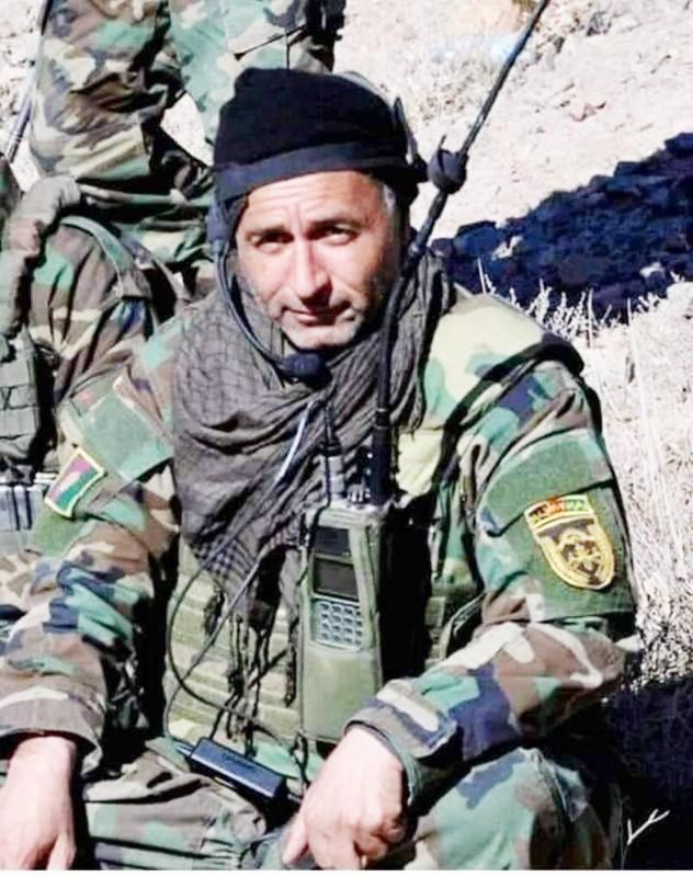 قائد أفغاني قتل أمس. (متداولة)