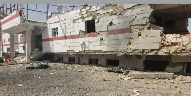 مستشفى مدمر في ولاية هلمند الأفغانية.