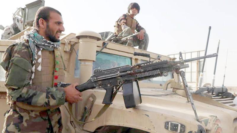 قوات حكومية أفغانية. (متداولة)