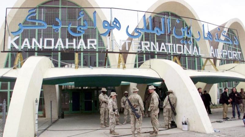 مطار قندهار الدولي.